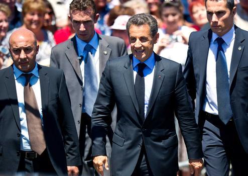 BRAX: French President Nicolas Sarkozy