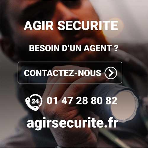 Société de Sécurité Privée à Paris Agir Sécurité